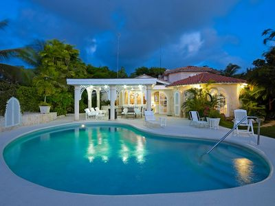 Photo for Whitgates Villa Barbados - Luxury 4 Bedroom Beach Front Villa - *Cook Included*
