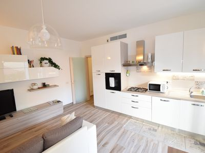 Photo for Fuorisalone Zona Tortona, Solari - 4 pax two-room apartment complete with everything