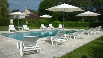 Heated swimming pool  open from the beginning of May to the end of September