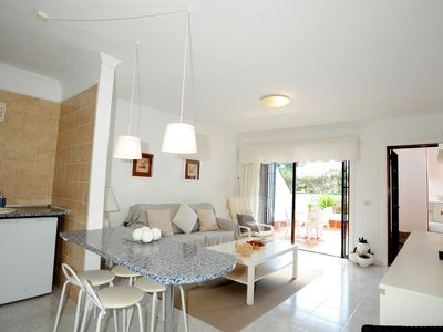 Photo for Atlantic View. Apartment. 3 pools. WiFi. Direct access to sea 100 metres away.