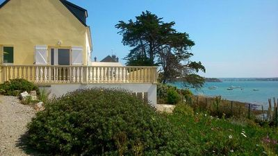 Photo for Seasonal furnished rental 135m² 3 rooms - DIRECT PRIVATE ACCESS TO THE SEA -