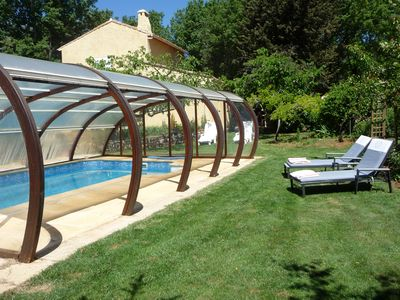 Photo for Bed and Breakfast with Swimming pool La Lézardière Seillons source d'Argens St Maximin