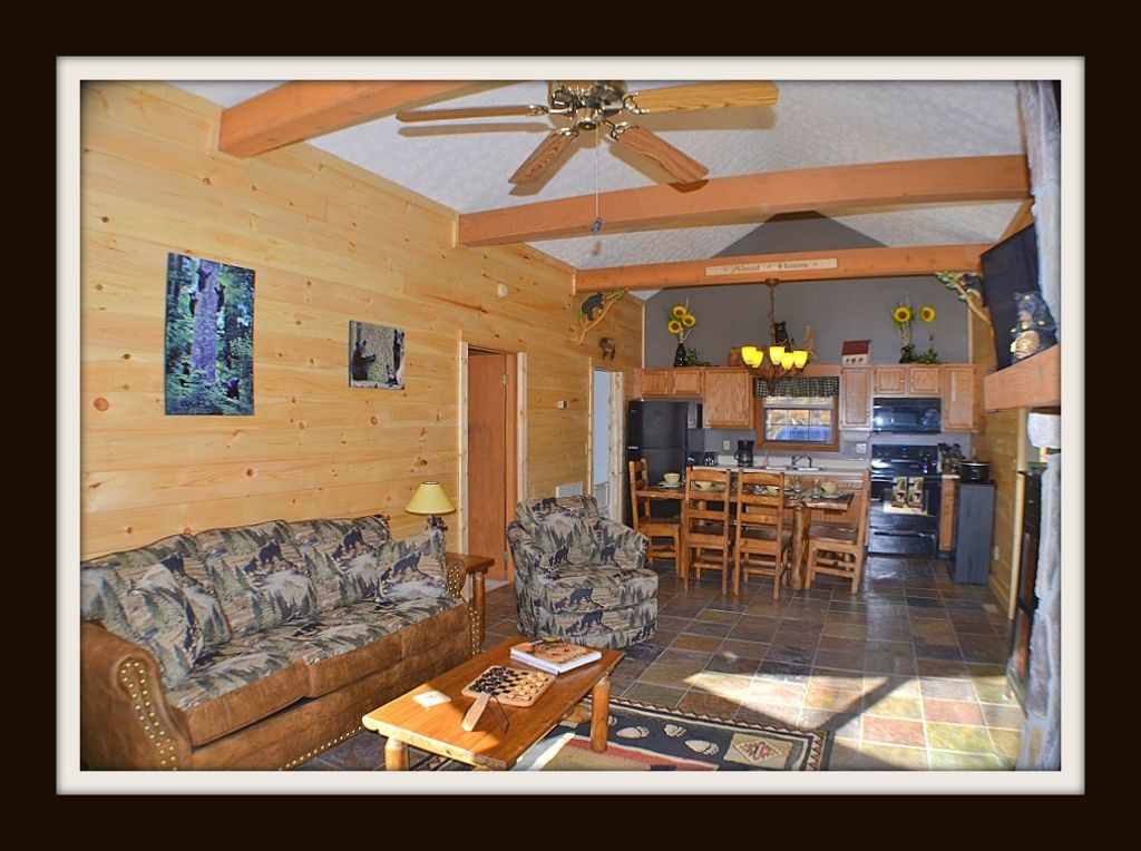 Property Image#9 A Honeybear Hideaway} Pool Access,Jacuzzi And Hot Tub,