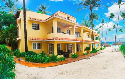 Photo for Punta Cana Apartment on the Beach, Private Terrace