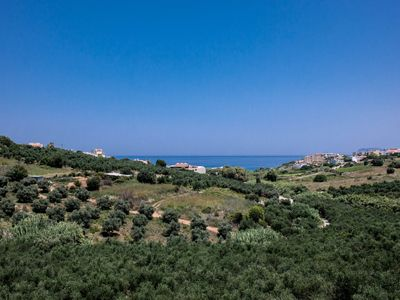 Photo for Alexandra Villa Stalos | Private 3 Bedroom House with Garden and Sea Views |