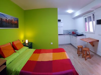Photo for Studio apartment in the ground floor of a house.