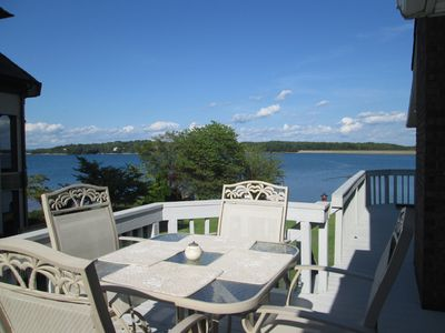Grill and eat outside or just sit and enjoy the awe-inspiring view.