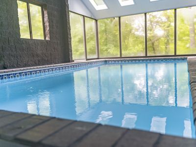 Photo for Spacious Home Sleeps 16+ Indoor Pool & Location