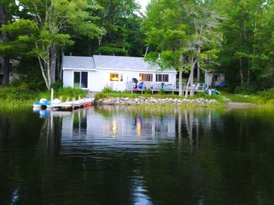Photo for 3BR Cottage Vacation Rental in Fayette, Maine
