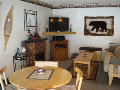 Photo for Adorable Mountain Decor Condo, Immediate  Access to Forest Trails & Bike Path