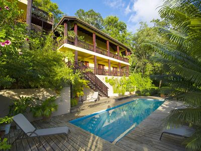 Photo for VILLA POMME D'AMOUR  IN MARIGOT 1ST LEVEL OF MAIN HOUSE 3 MIN WALK TO QUIET COVE