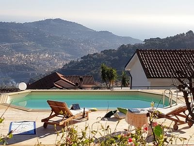 Agata House Villa With Pool For Groups And Families Imperia