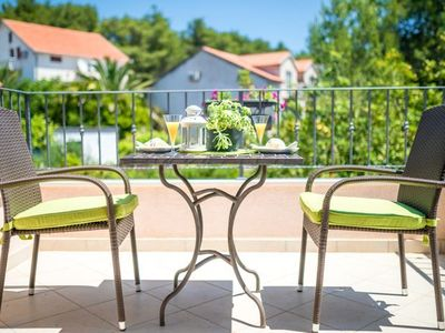 Photo for 1BR Apartment Vacation Rental in Vrboska - island Hvar
