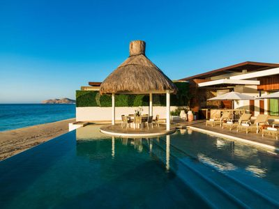 Photo for Ultra Exclusive Beachfront Villa with Infinity Pool & Hot Tub. Just Steps from the Sand