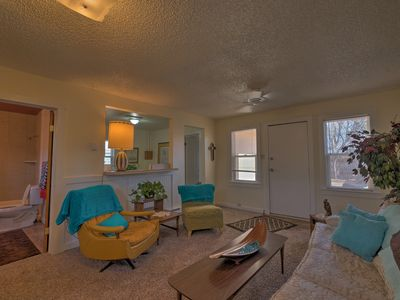 Photo for NEW! Retro 1BR Home w/ Patio in Old Colorado City!