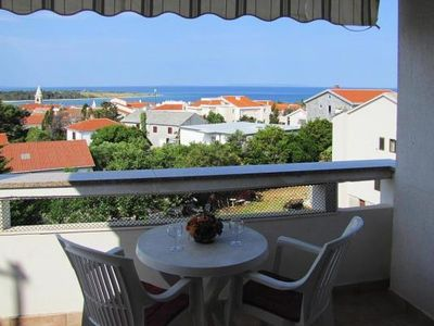 Photo for Holiday flat Suzi, Novalja  in Pag - 6 persons, 2 bedrooms