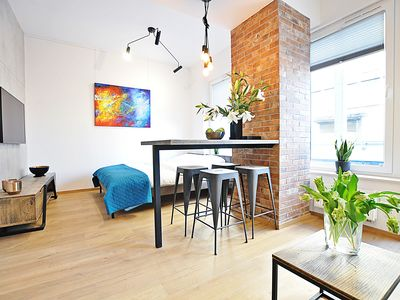 Photo for Lofts Cracow Apartments City Center - Apartment Red