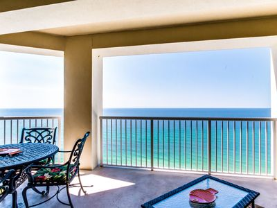 Photo for Large Private Balcony with endless views of the Gulf- 2/2 w/ FREE Activities!