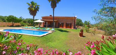 Photo for Son Barbut Air Conditioning Wi-fi, Pool, Garden, 15 minutes  beach Es Trenc