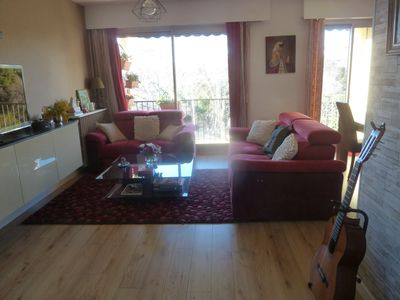 Photo for BEAUTIFUL T2 -54 M2 air conditioned in quiet residence. Secure parking, Wifi access