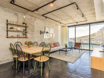 Photo for Contemporary 2-Bed Apt in Cape Town, w/Balcony & Pool