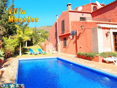 Photo for Beautiful holiday villa with private pool and bodega bar close to the beach