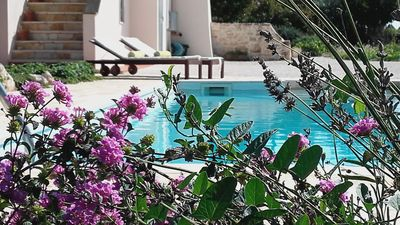 Photo for Two Bedroomed Trullo, Private Swimming Pool, Countryside Views & Wifi Internet