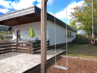 Photo for Small holiday home is Medebach in the Sauerland with balcony and magnificent view