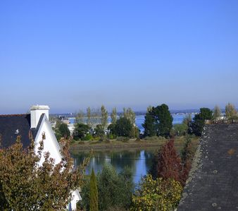 Photo for Nice apartment overlooking the rooftops of Loctudy -----------------------------