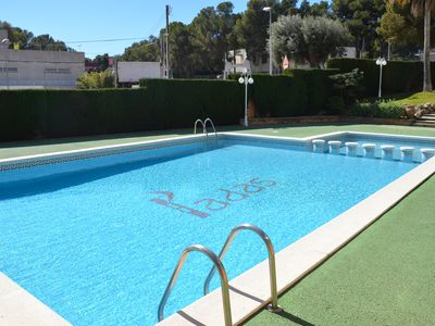 Photo for QUIET APARTMENT, WITH LARGE TERRACE AND SWIMMING POOL ¡CERCA DEL MAR AND PORT AVENTURA!