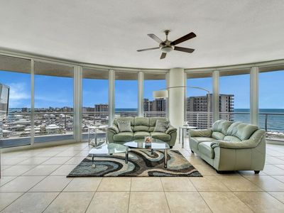 Photo for Bella Luna 1010-Large Corner Unit with Spectacular Views of Beach & Bay