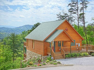Photo for Breathtaking Views of the Smokies--Pool Table, Arcade, Theater and More!