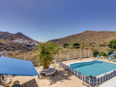 Photo for Cozy rental with shared pool & balcony - nestled in the hills of Tenerife!