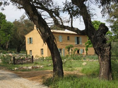 Photo for Air-conditioned villa with pool in rural setting (June 20-August 1 only)