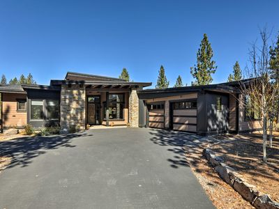 Photo for NEW! Truckee Home w/Furnished Deck on Golf Course