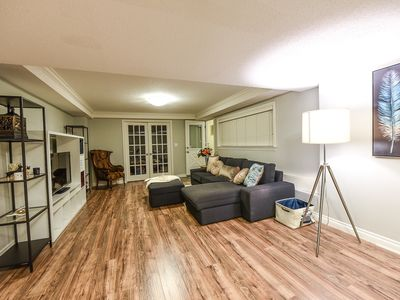 Photo for Large 2 bedrooms unit beside skytrain station