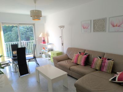 Photo for 10 min away from the beach, air con, garage, wifi. Sale 10% off