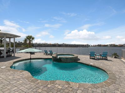 Photo for Destiny East with Private Pool & Lake Views ~ 6 Bedrooms/Sleeps 16/Lake