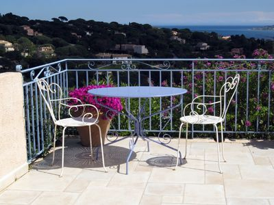 Photo for Lovely 2 bedroom house situated in Ste Maxime with spectacular views