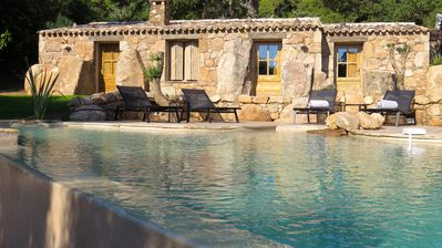 Photo for Magnificent villa type sheep Corsica with private pool, near Palombaggia