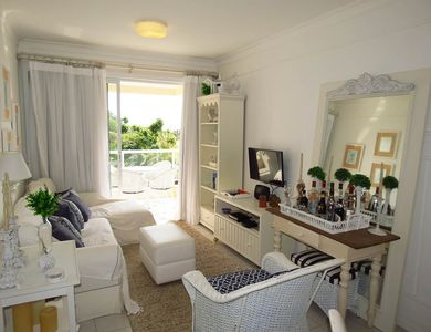 Photo for Beautiful apartment 50 meters from the sea! Swimming pool, barbecue.