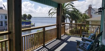 Photo for The Mermaid House on Key Allegro, waterfront, Open Bay views, sleeps 12-14
