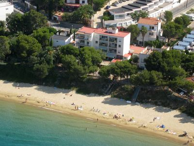 Photo for M11. Apartment direct to the spectacular small beach of Almadraba.