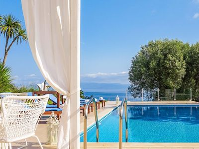 Photo for 3 bedroom Villa, sleeps 6 in Paliouri with Pool, Air Con and WiFi