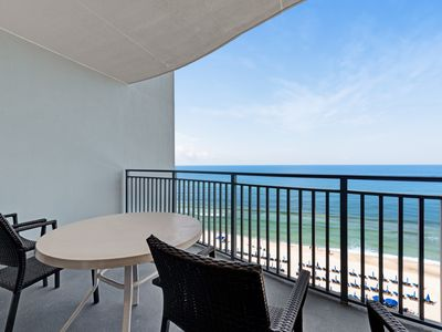 Photo for Beachfront condo w/ incredible views & shared pool/hot tub/fitness center!