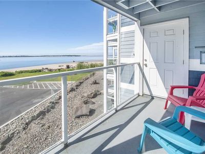 Photo for Second-Story Views of the Pacific and Siletz Bay Plus Access to Taft Bayfront