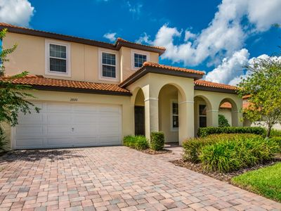 Photo for Family Home near Disney & Beach w/ WiFi, Pool, Spa, Gameroom & Flatscreen TV