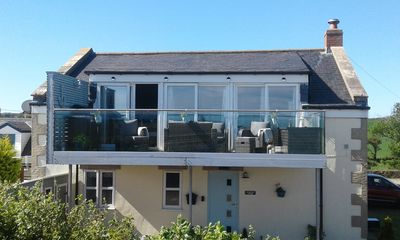 Photo for Cormorant Cottage . With Sea View Glass Balcony. Sleeps 6