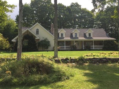 Photo for The Knoll - Incredible Family Property in Manchester Village - Meadow & 77 acres
