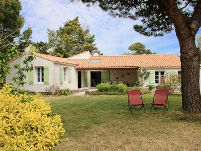Photo for NEW! Charming house with garden renovated in 2018, 300m from the beach